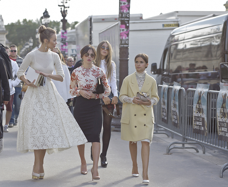 miroslava duma chloe paris fashion week