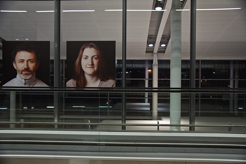 faces of dublin at dublin airport
