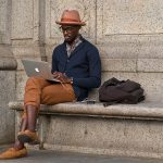 street style men with hats
