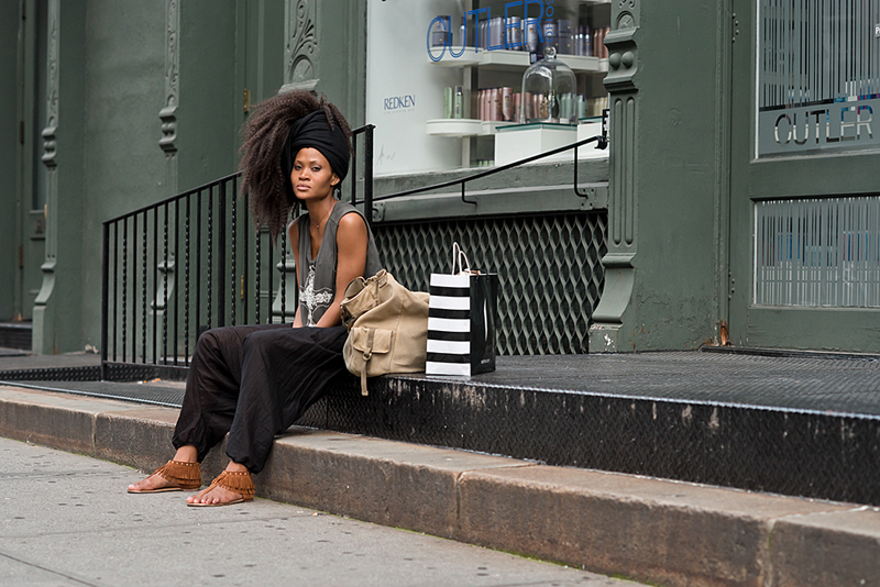 street style black natural hair