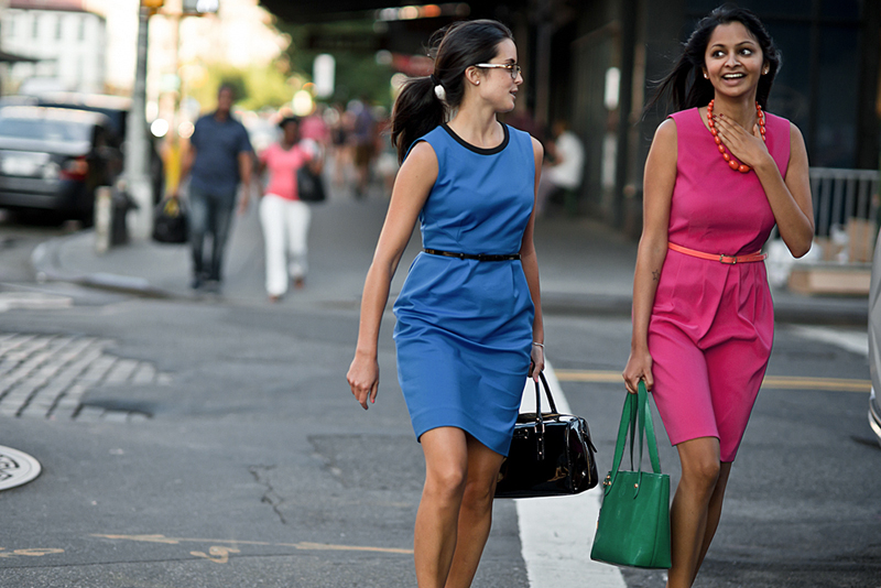 street style - kate spade dresses