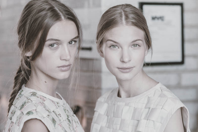 backstage at houghton spring 2014 - nyfw (5)