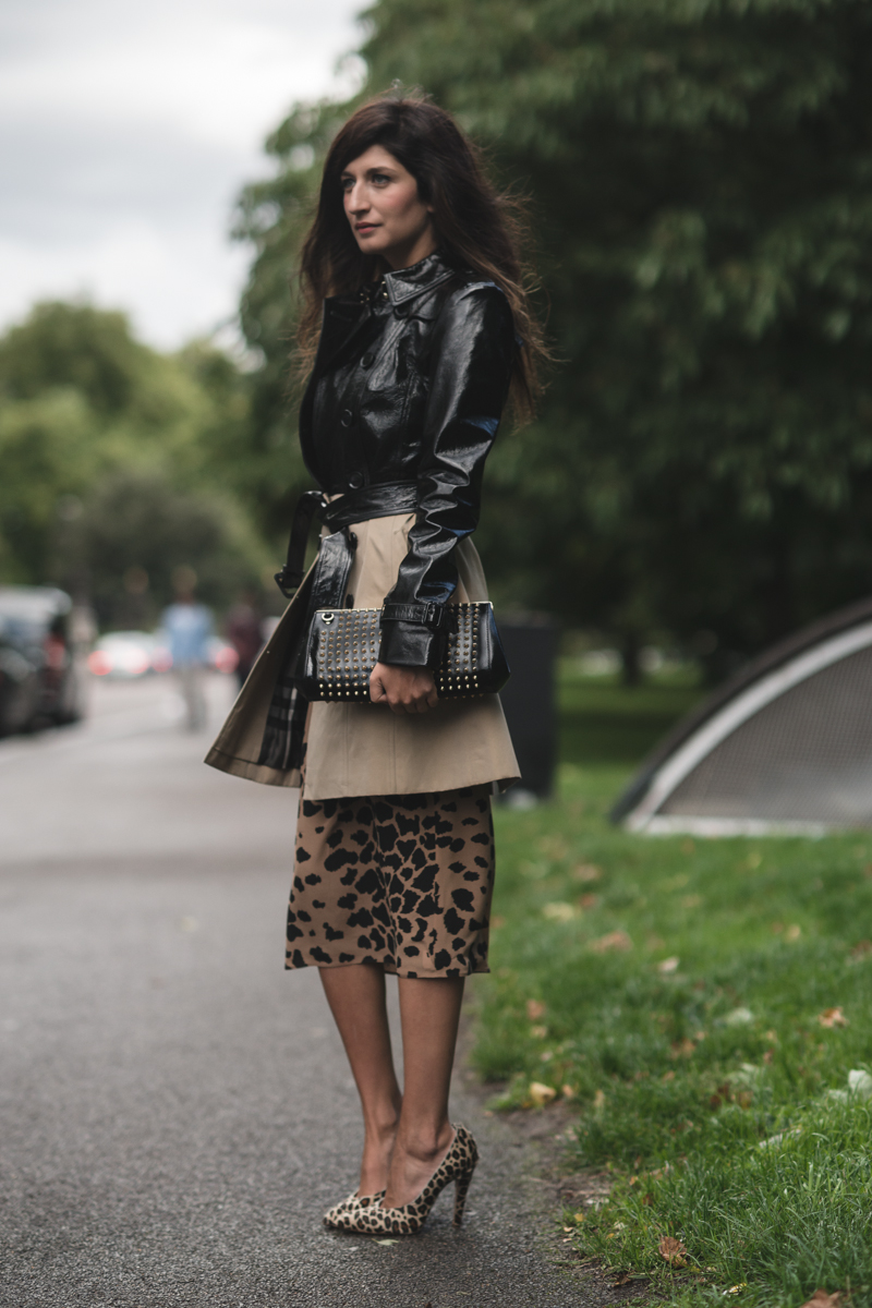 valentina siragusa after burberry in london