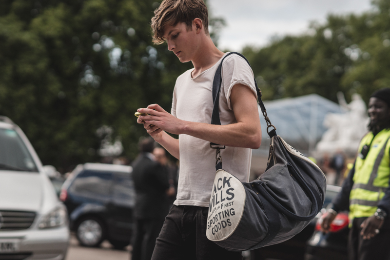 street style men - london