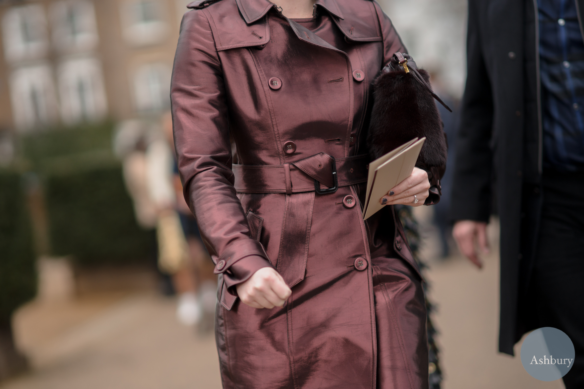 burberry aw14 street fashion