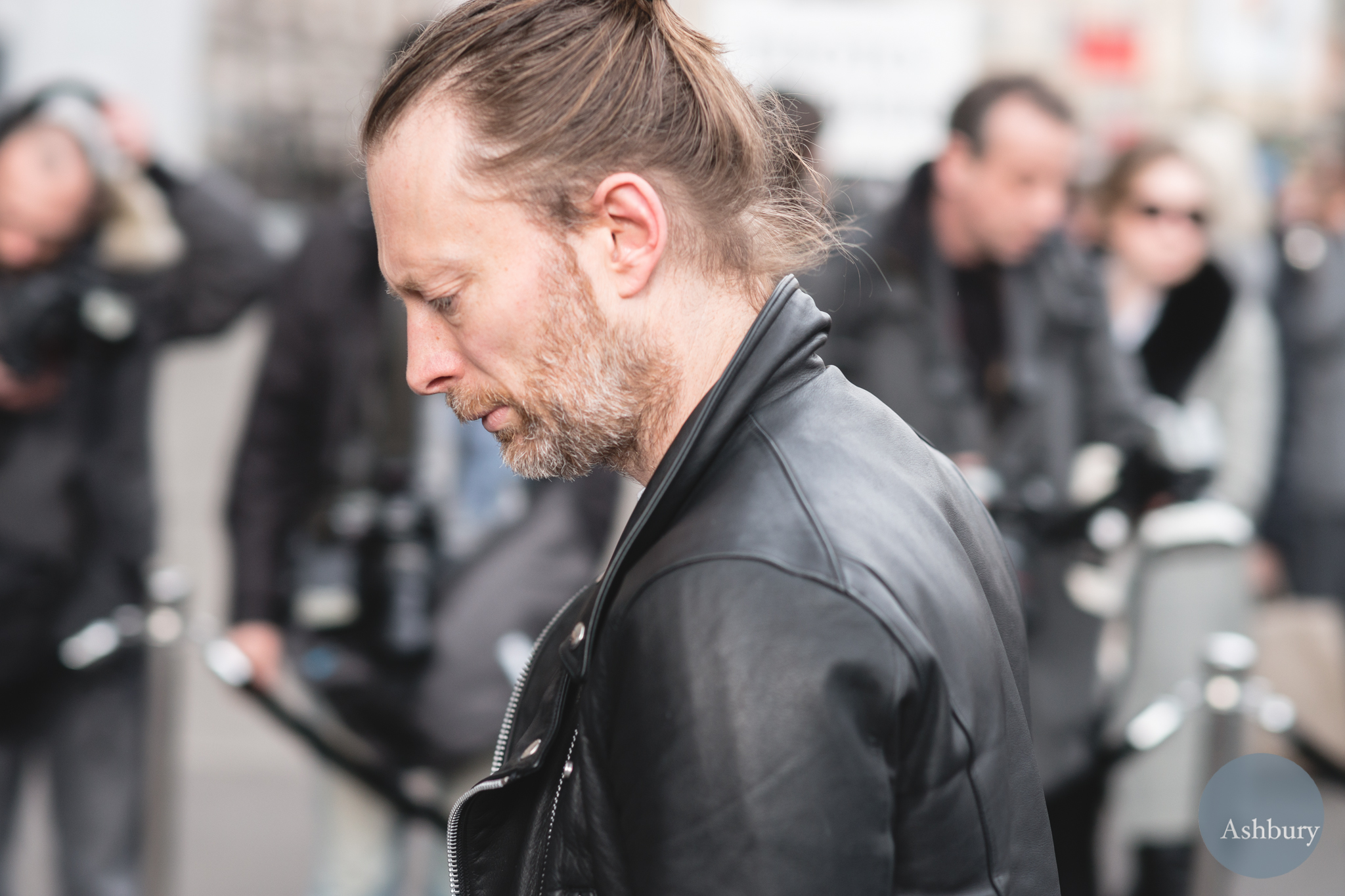 Thom Yorke at Paris Fashion Week