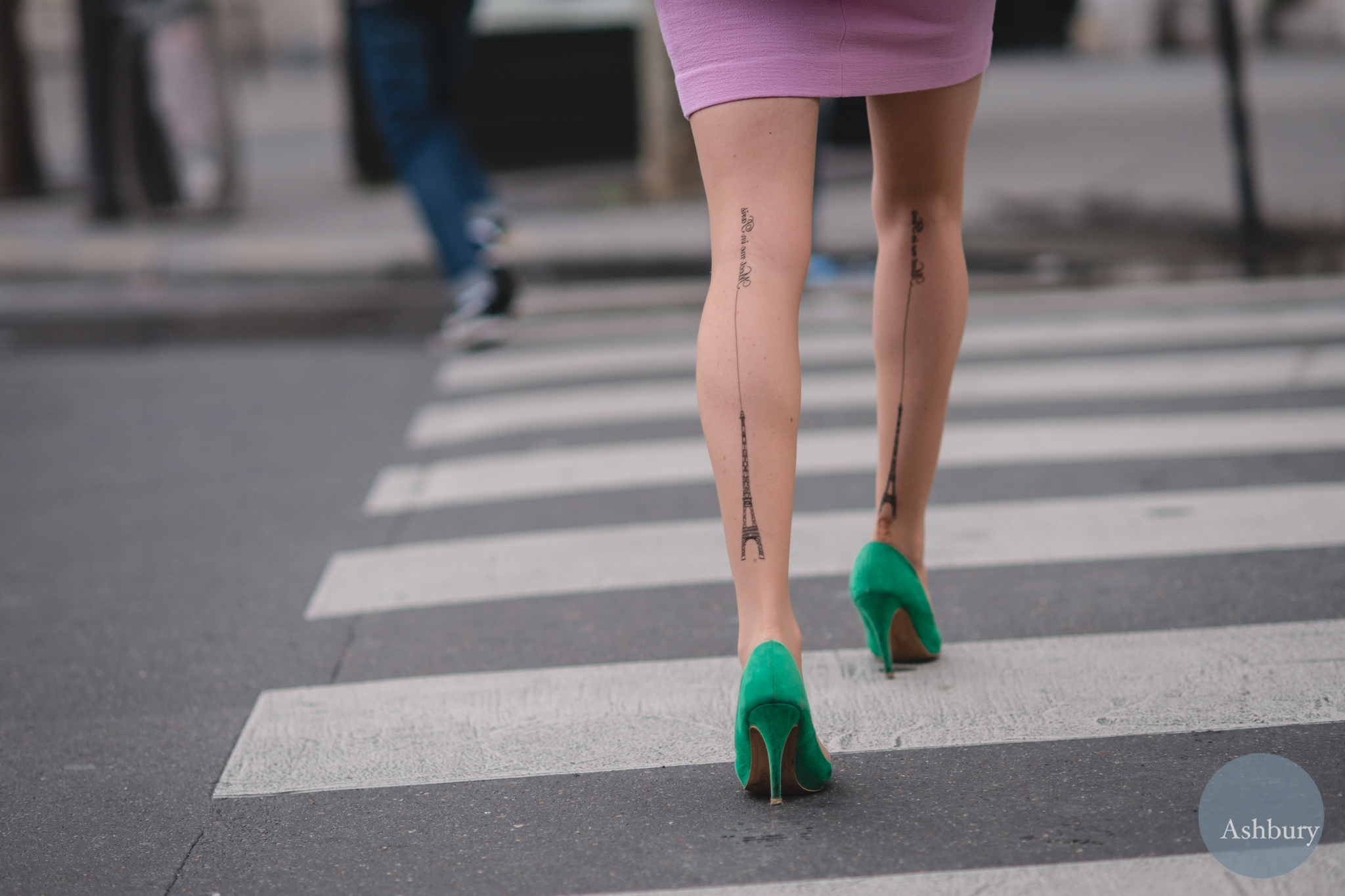 paris street fashion - legs