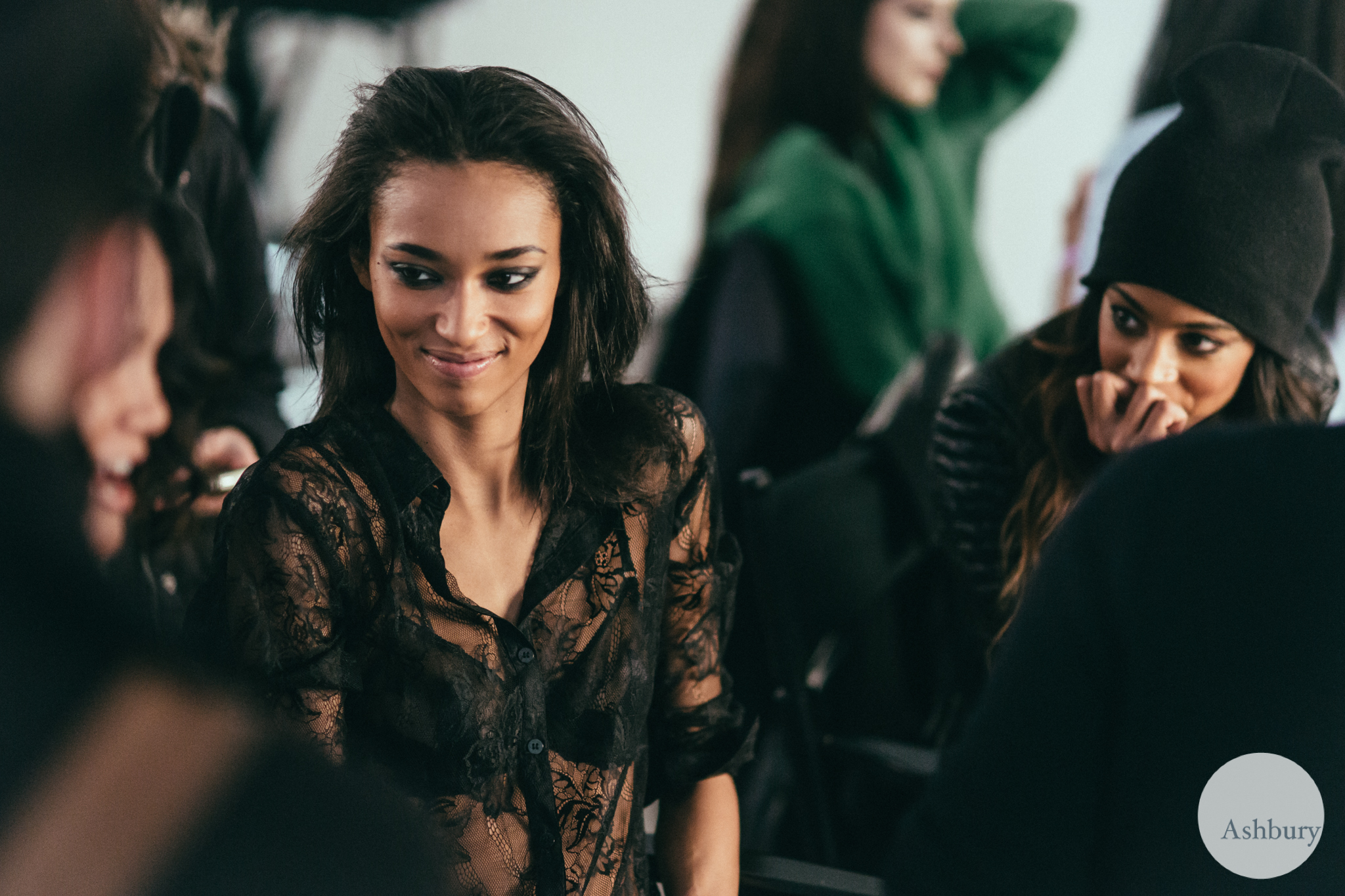Anais Mali - sophie theallet backstage