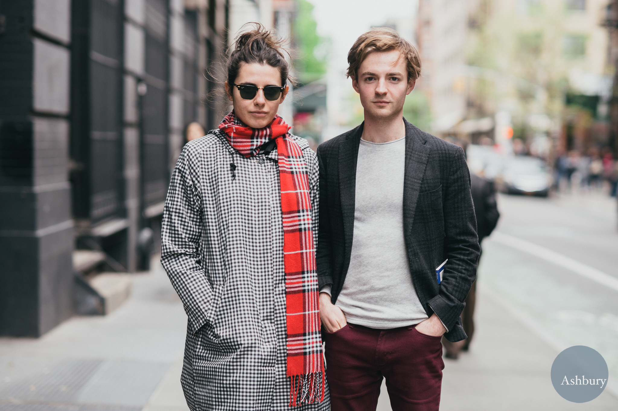 fashionable pair - street style