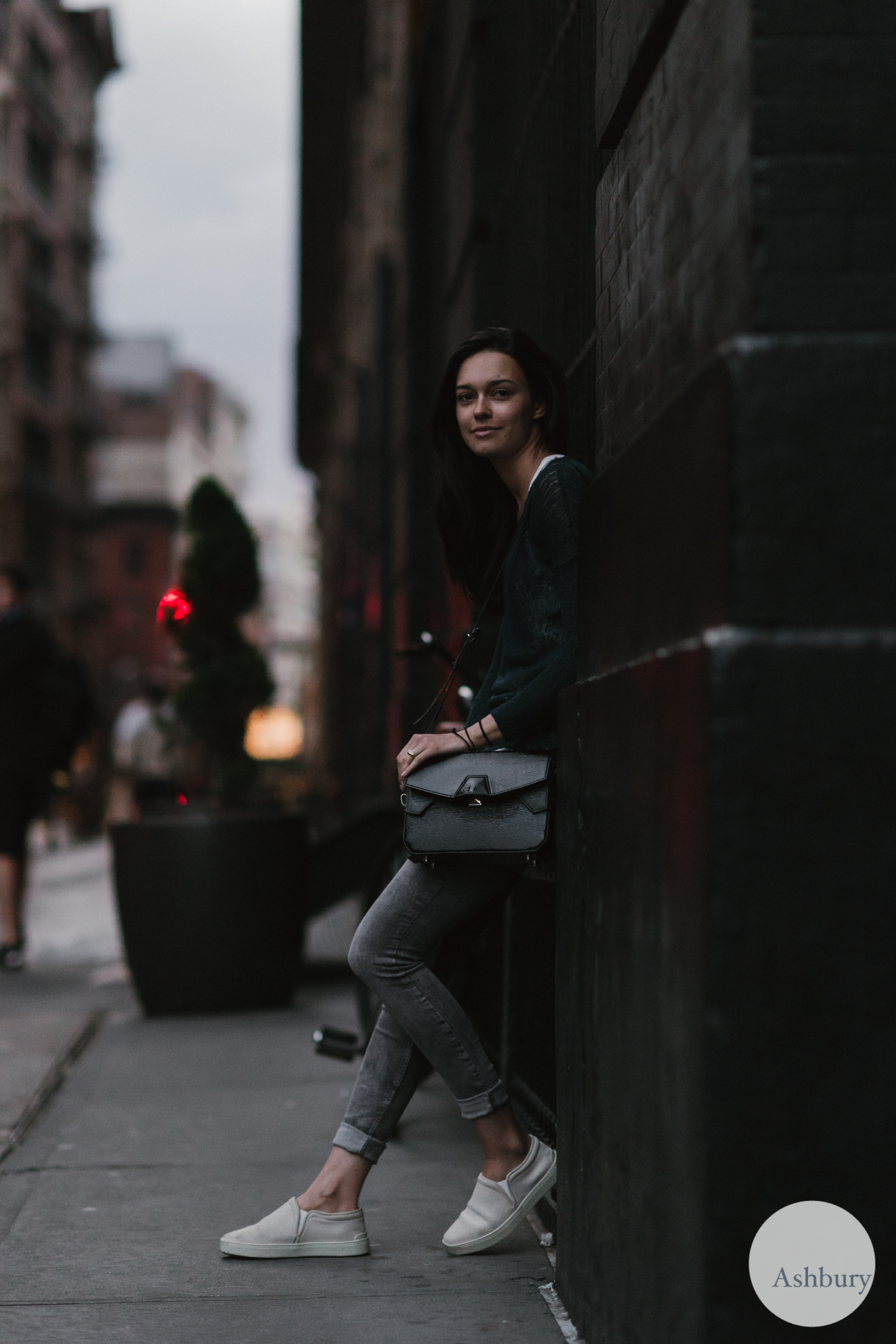 after sunset street style