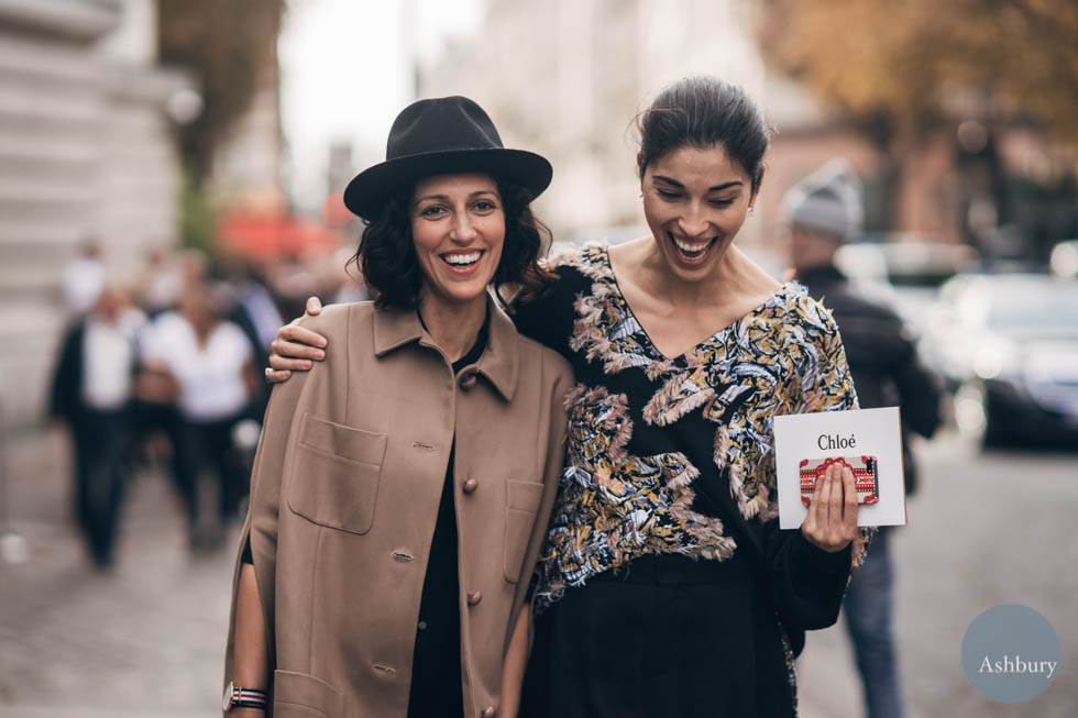 yasmin sewell and caroline issa- paris