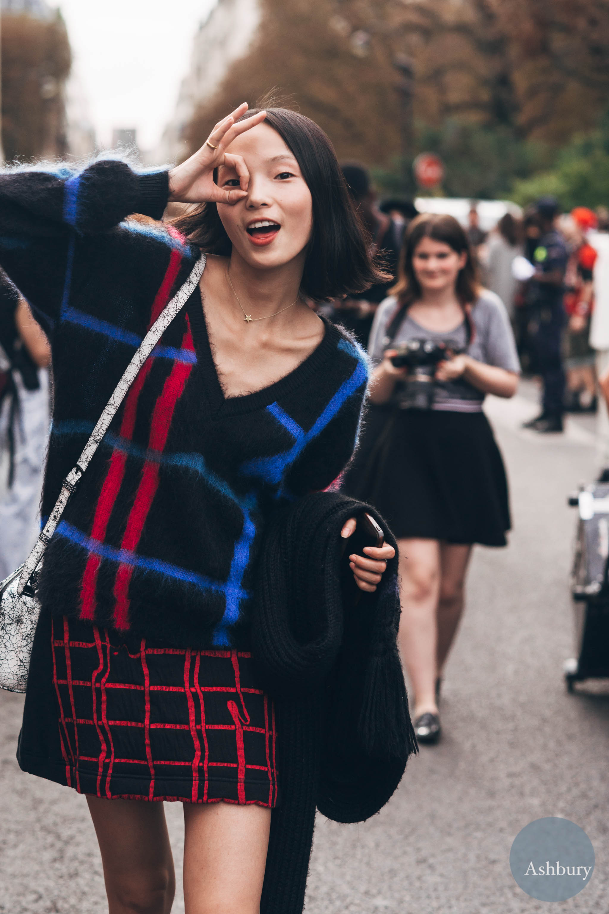 xiao wen ju - models off duty (2)
