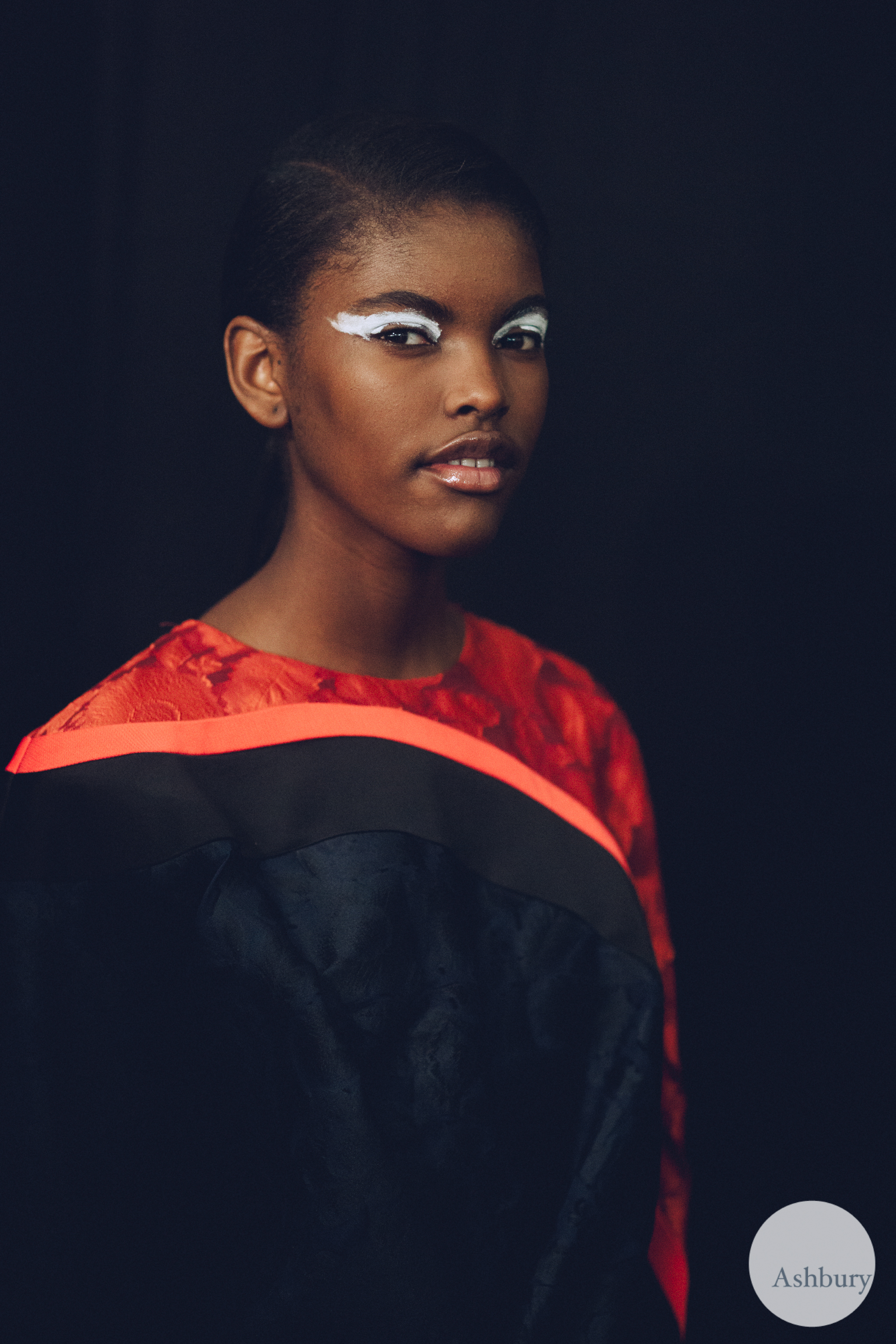 kenzo backstage fall/winter 2015 - amilna estevao