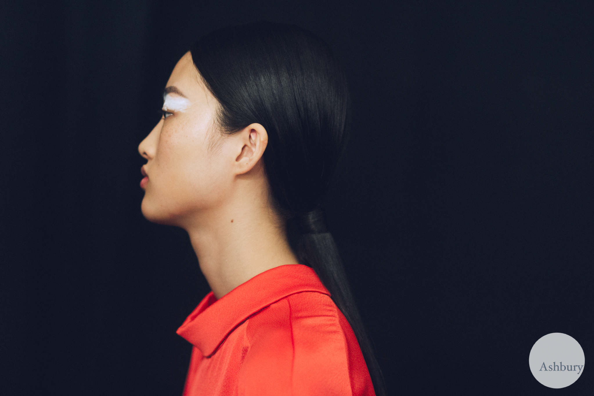 kenzo backstage fall/winter 2015 - jing wen 2