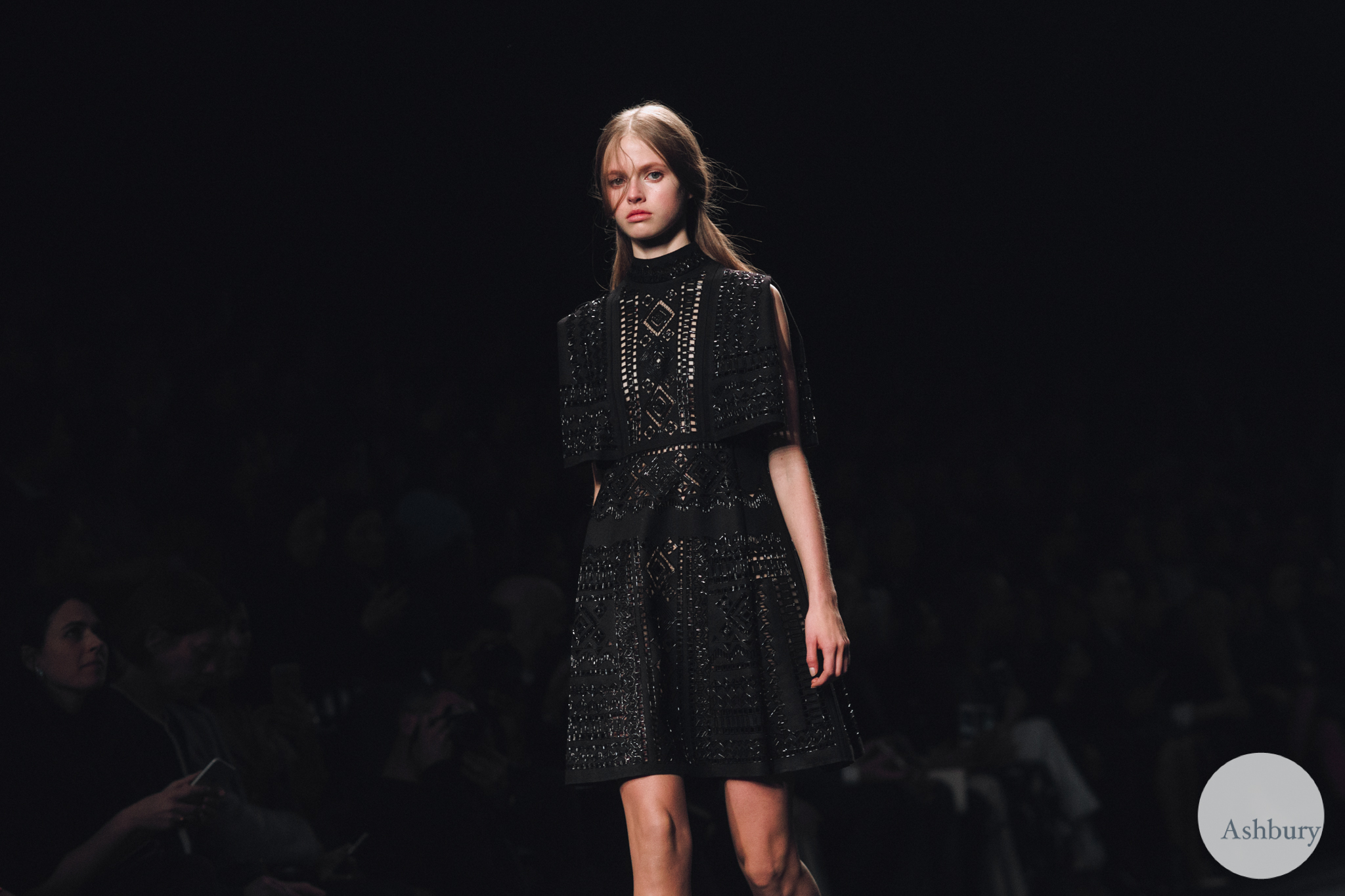 valentino fall winter 2015 - avery blanchard
