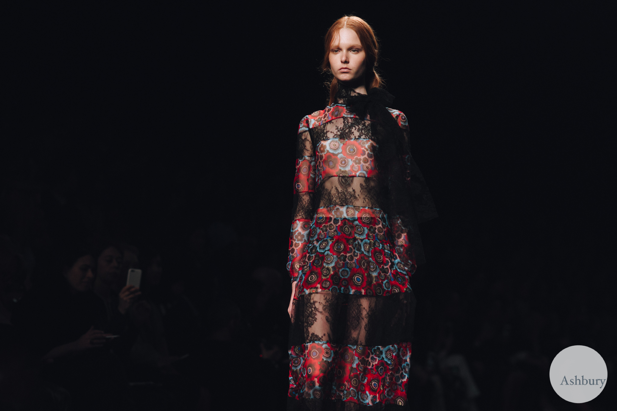 valentino fall winter 2015 - grace simmons 2