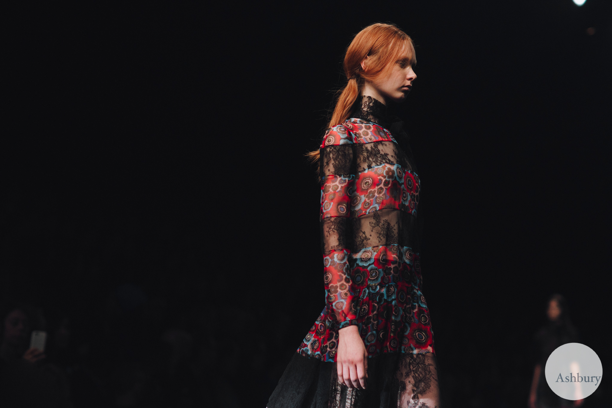 valentino fall winter 2015 - grace simmons 3