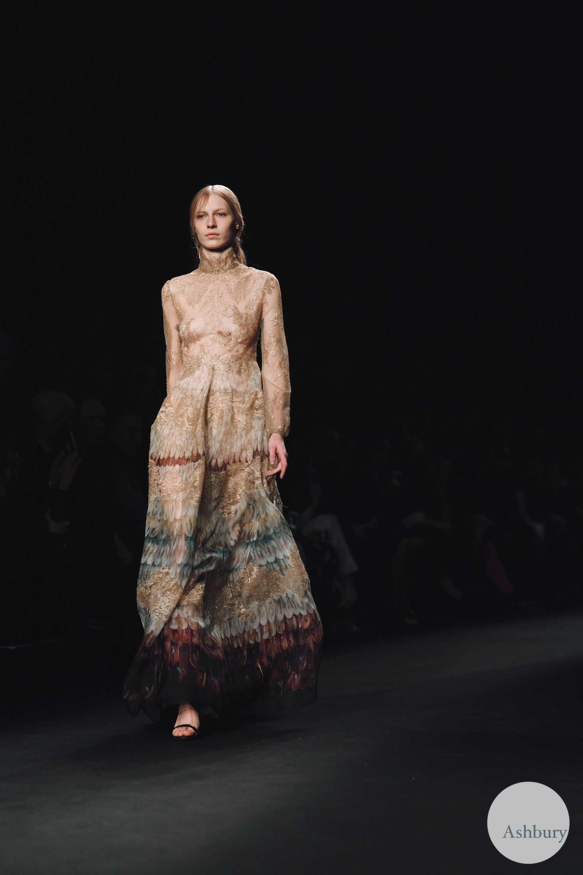 valentino fall winter 2015 - julia nobis 2