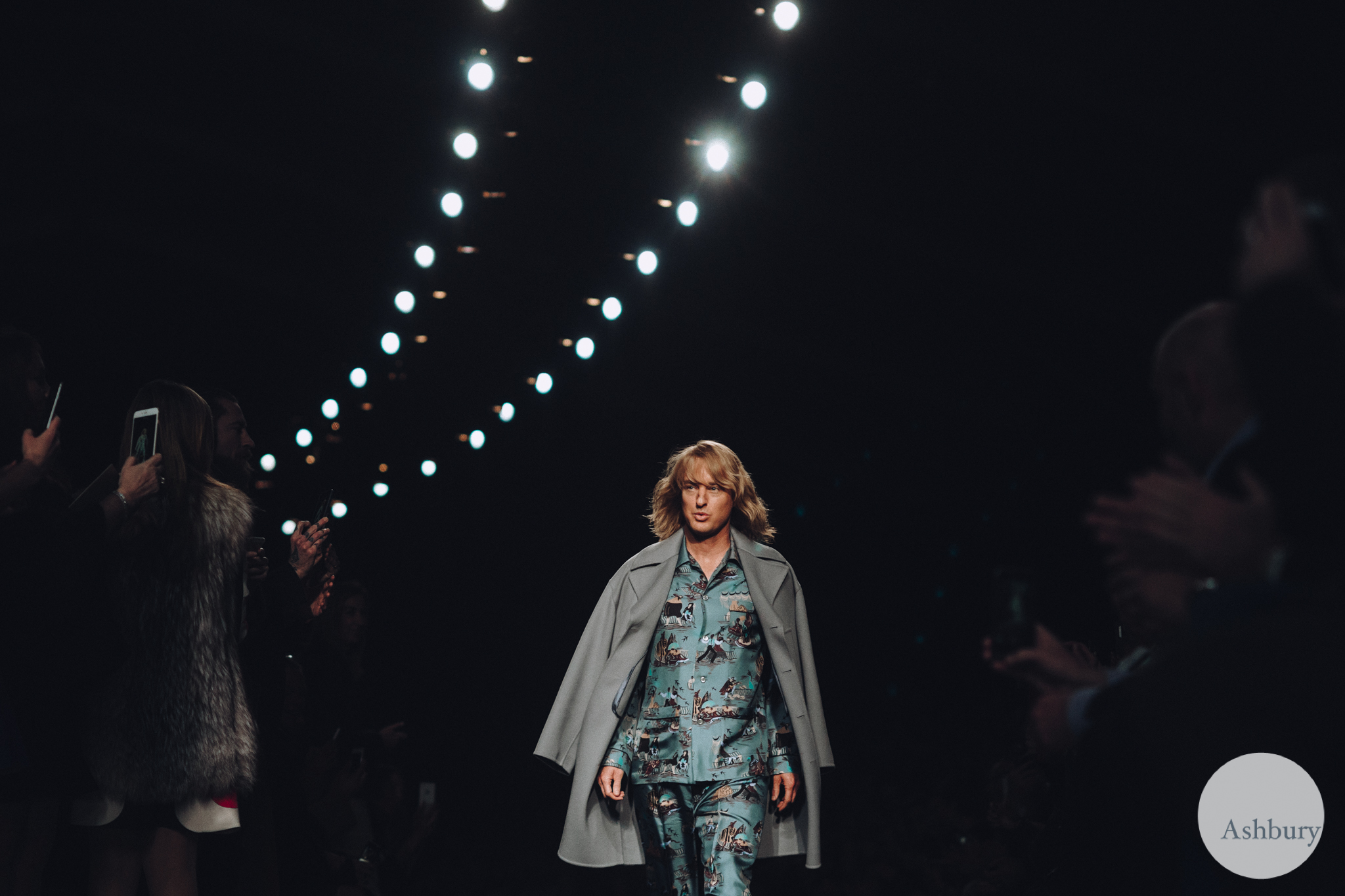 valentino fall winter 2015 - owen wilson