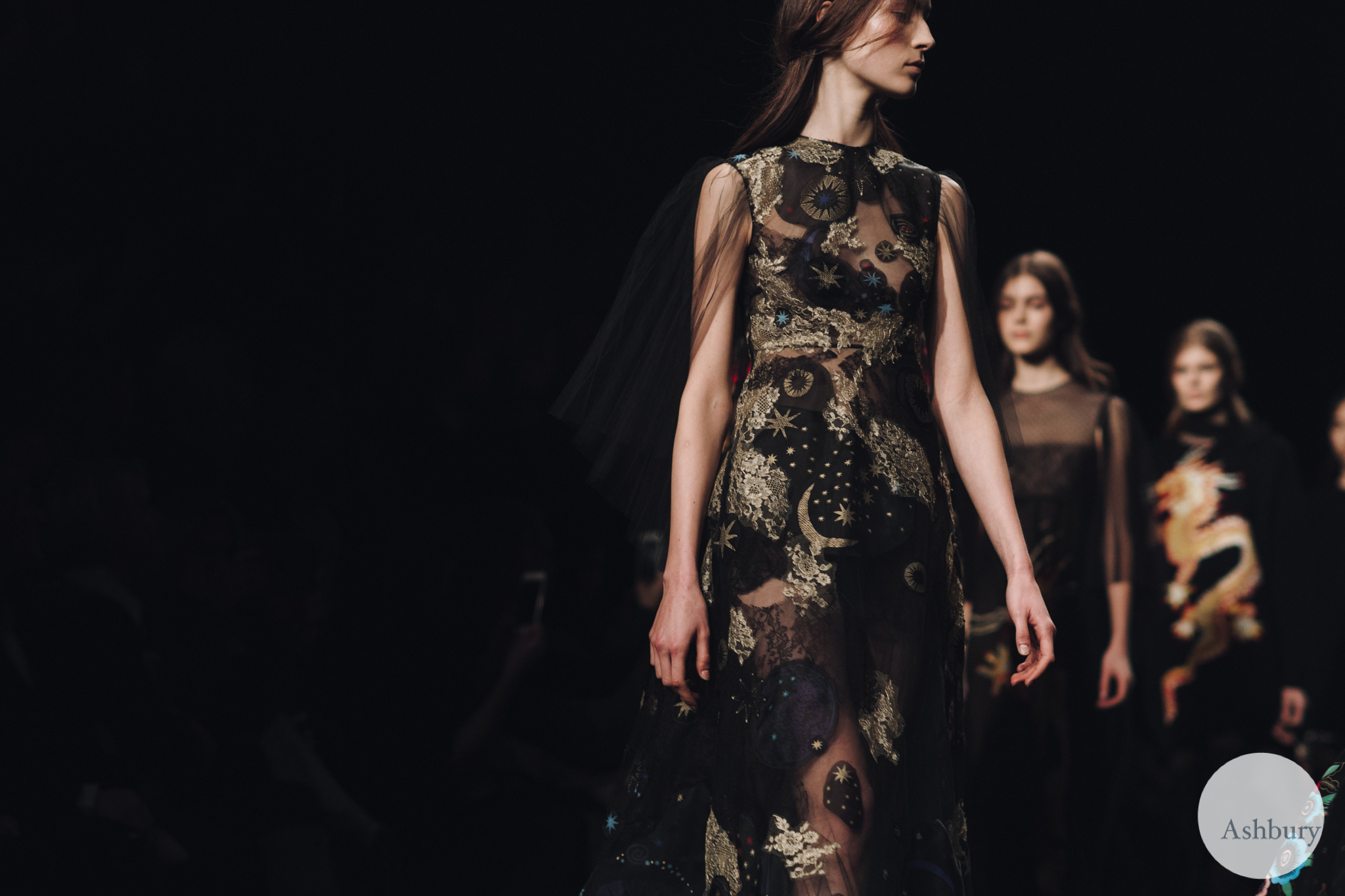 valentino fall winter 2015 - julia bergshoeff 3