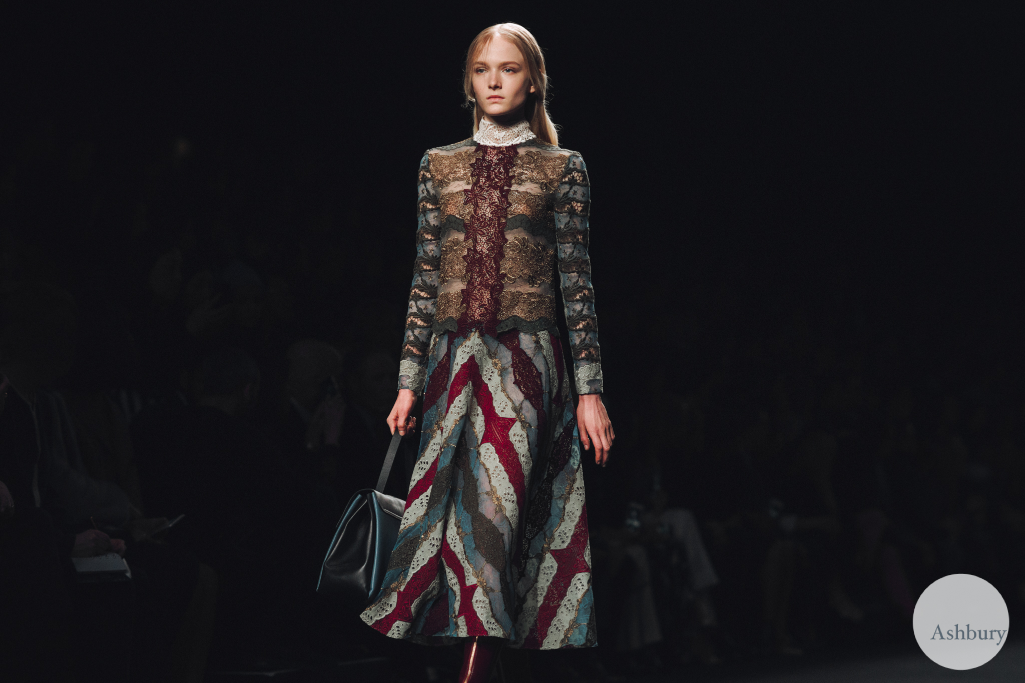 valentino fall winter 2015 - maja salamon