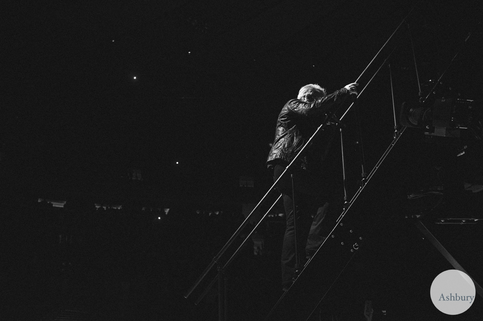 bono of U2 u2ie tour MSG 0719 fuji x100
