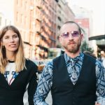 veronika heilbrunner and justin o'shea nyfw day 3