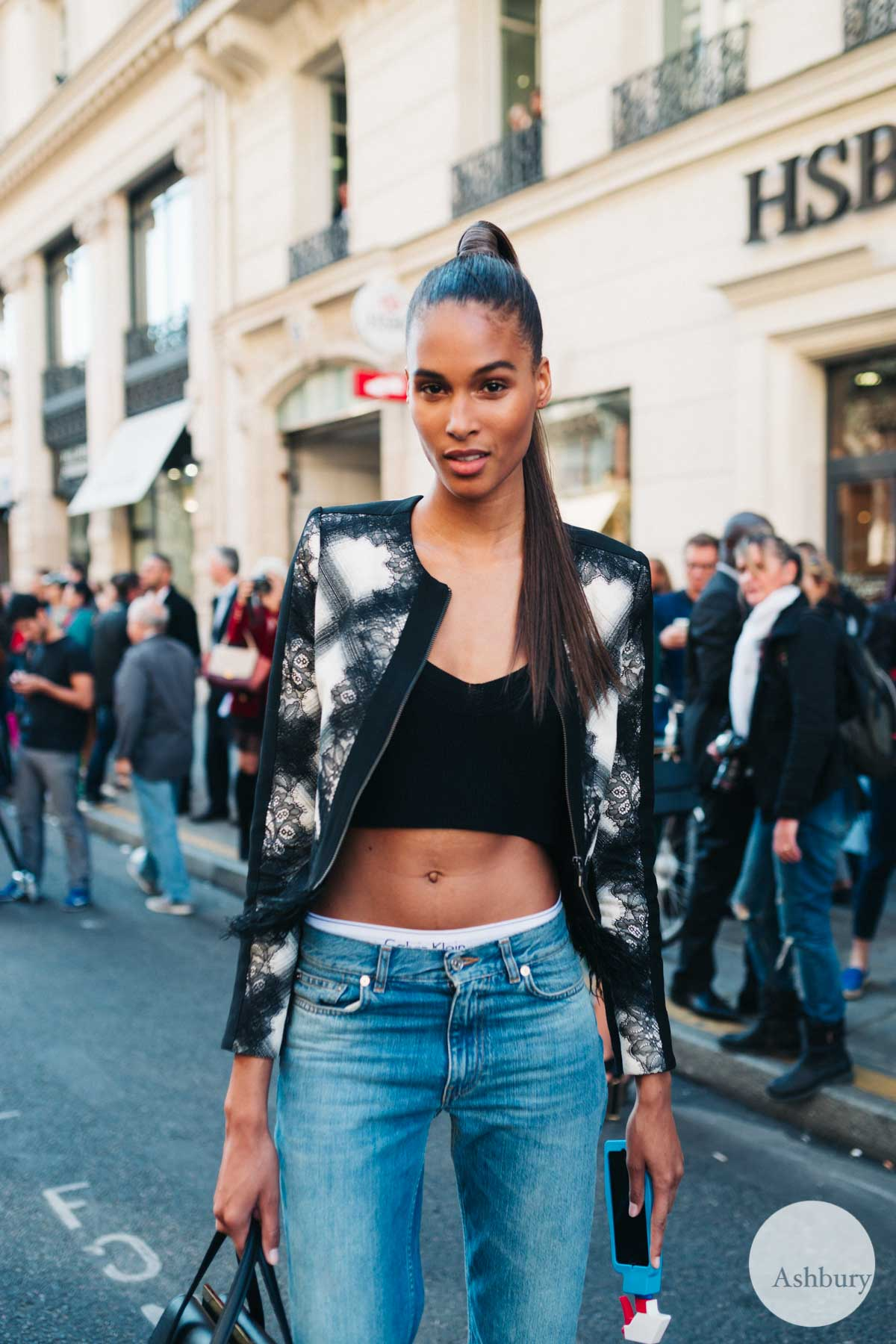 cindy bruna - models off duty pfw