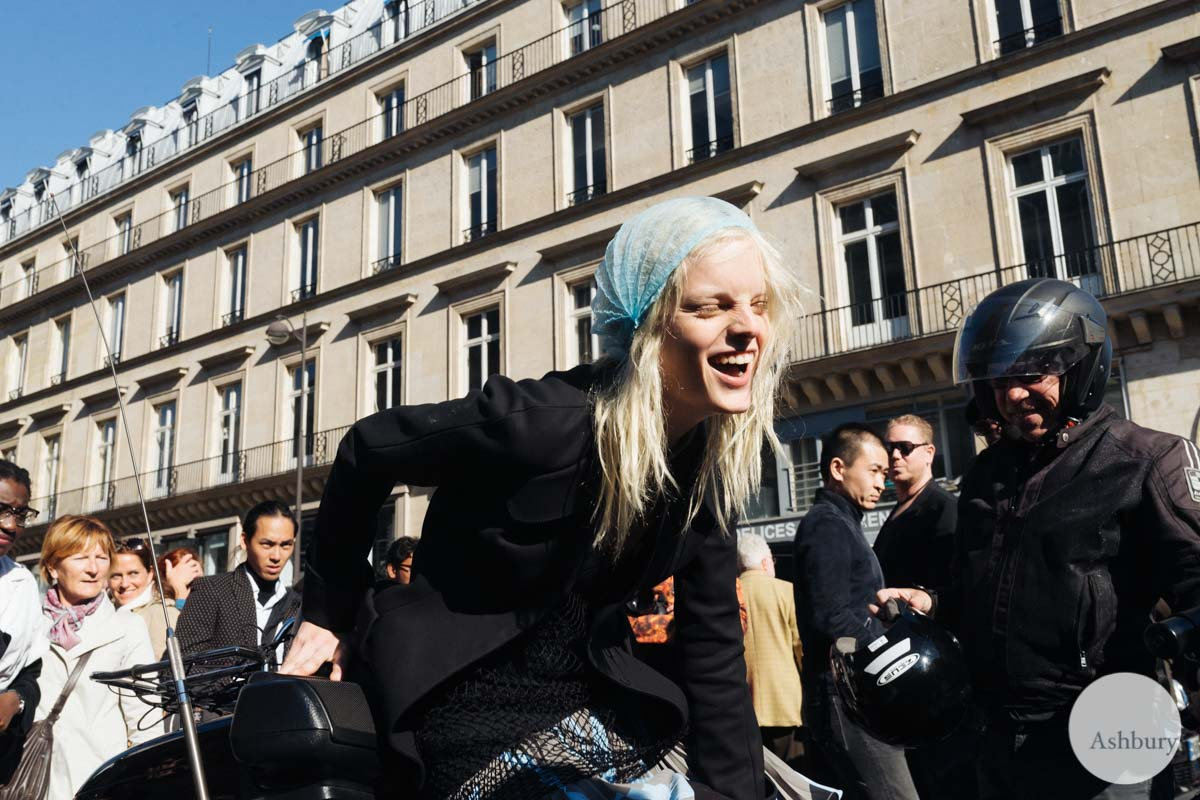 hanne gaby odelie - models off duty paris