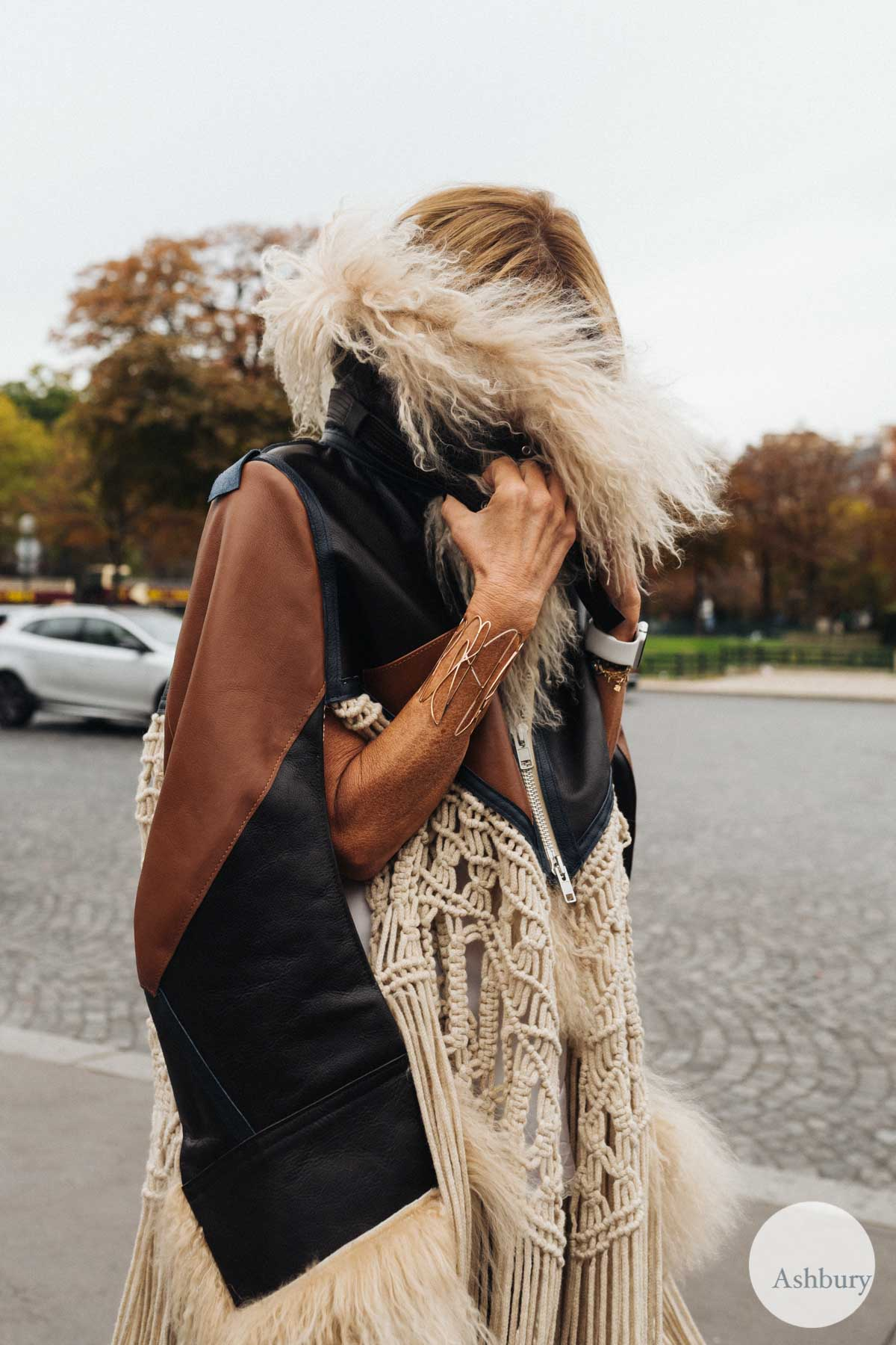 anna dello russo paris fashion week ss16 day 7