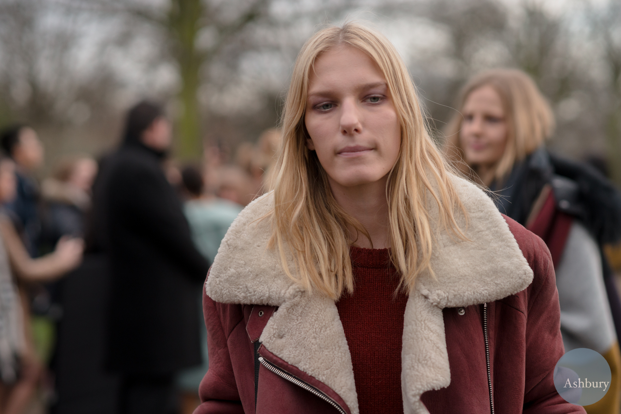 Marique Schimmel - models off duty - burberry street fashion aw14