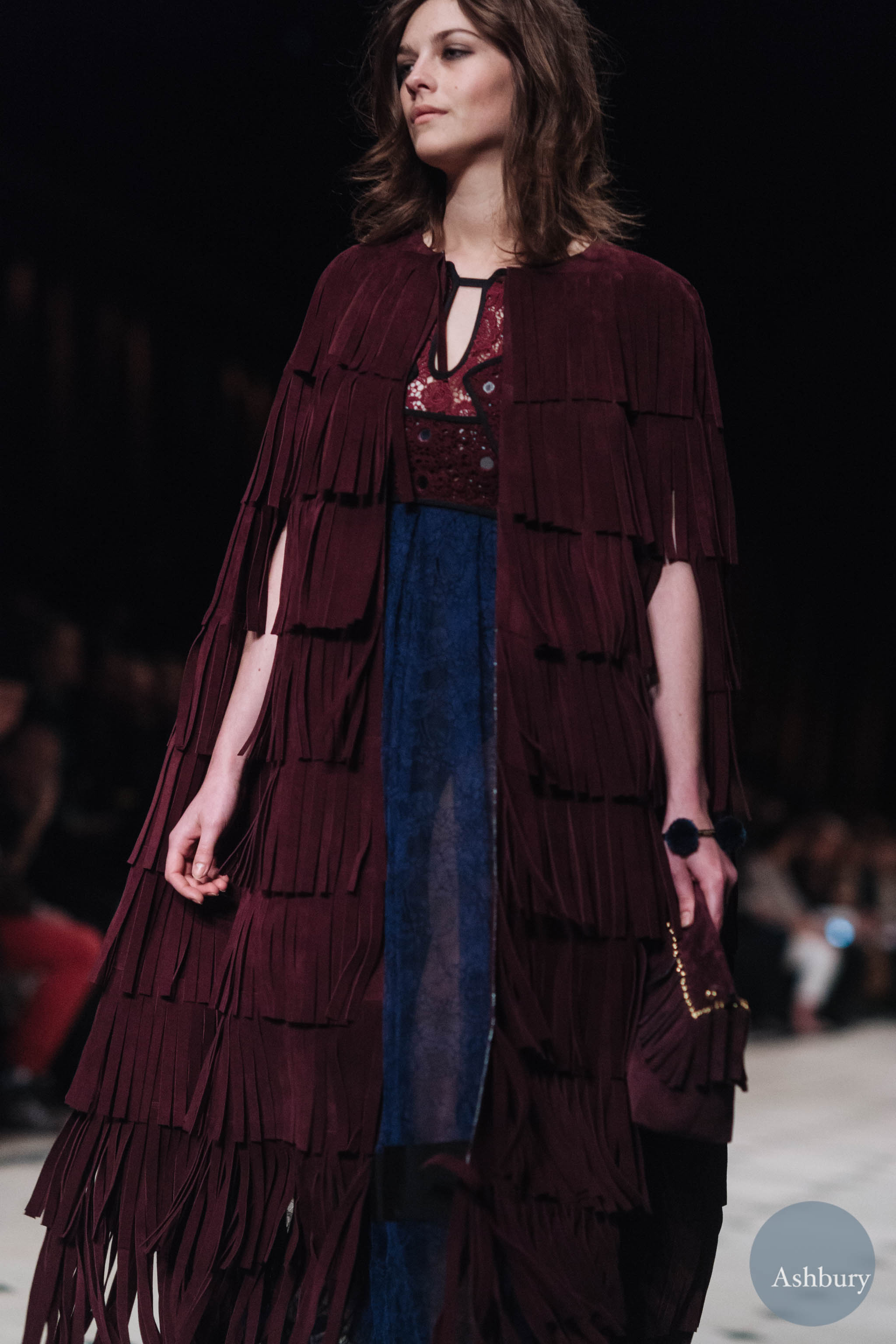 burberry fw15 amber anderson (look 2)
