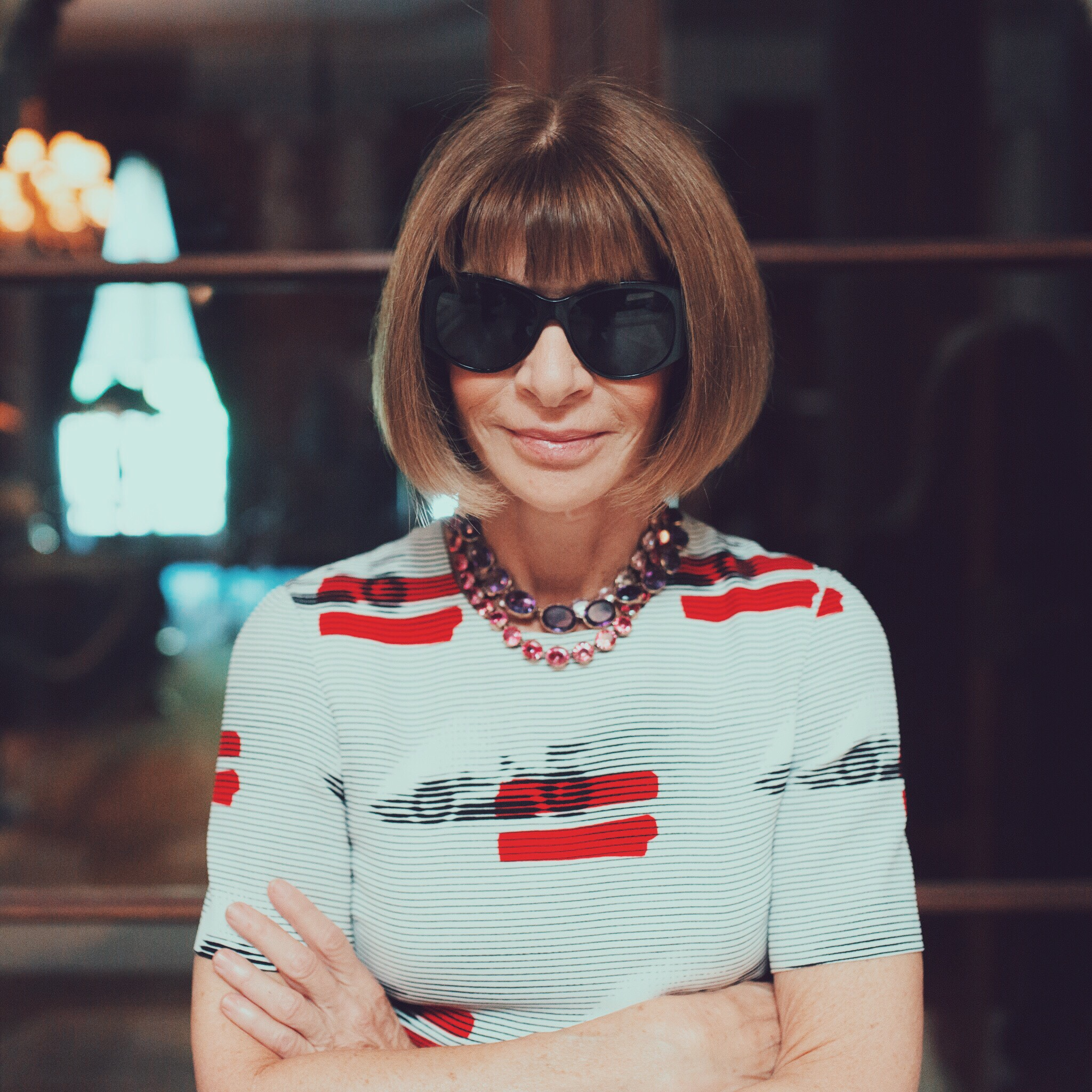 anna wintour - vsco ss16 yearbook